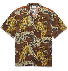 Gucci - Printed Voile Shirt