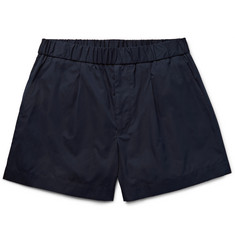 Gucci - Cotton and Silk-Blend Shorts