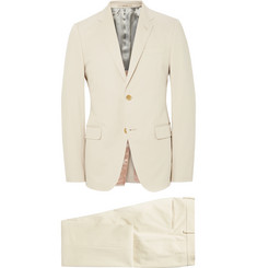 Gucci Ecru Monaco Slim-Fit Stretch-Cotton Suit