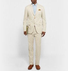 Gucci - Ecru Monaco Slim-Fit Stretch-Cotton Suit
