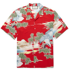 Gucci Printed Voile Shirt