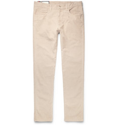 Gucci - Slim-Fit Stretch-Cotton Corduroy Trousers