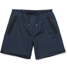 Gucci - Silk Faille-Trimmed Cotton Shorts