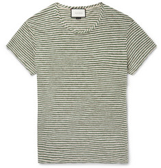 Gucci - Slim-Fit Striped Linen T-Shirt