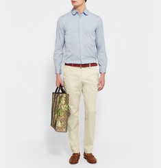 Gucci - Slim-Fit Stretch-Cotton Gabardine Trousers
