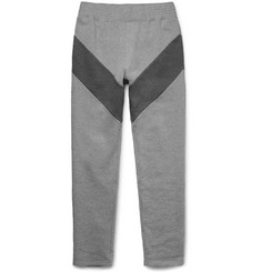 Givenchy - Slim-Fit Panelled Loopback Cotton-Jersey Sweatpants