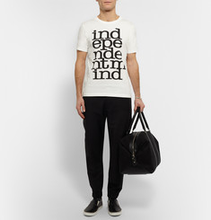 Paul Smith Independent Mind Slim-Fit Printed Cotton-Jersey T-Shirt