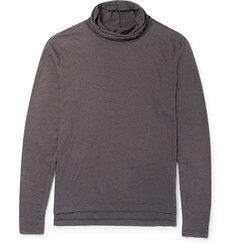 Paul Smith Slub Silk and Cotton-Blend Rollneck Sweater