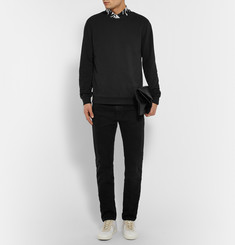 Paul Smith Washed Loopback Cotton-Jersey Sweatshirt