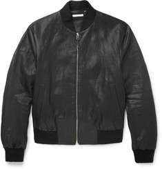 Paul Smith - Slim-Fit Coated Linen Bomber Jacket