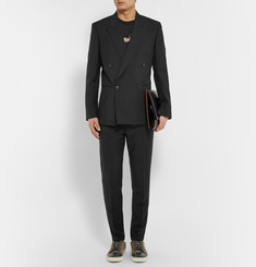 Paul Smith Slim-Fit Mohair and Wool-Blend Trousers
