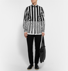 Paul Smith Slim-Fit Striped Cotton-Twill Shirt