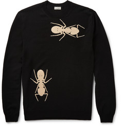 Paul Smith - Ant-Intarsia Merino Wool Sweater