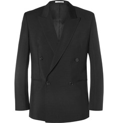 Paul Smith - Black Slim-Fit Mohair and Wool-Blend Suit Jacket