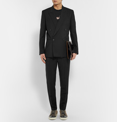 Paul Smith Black Slim-Fit Mohair and Wool-Blend Suit Jacket