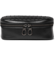 Bottega Veneta Intrecciato Leather Watch Case