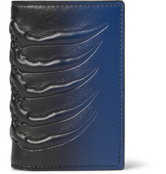 Alexander McQueen - Dégradé Embossed Leather Bifold Cardholder