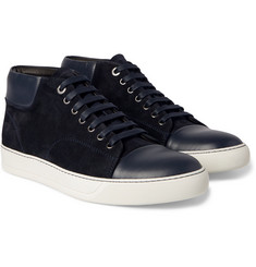 Lanvin - Suede and Leather Sneakers