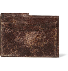 Maison Margiela - Distressed Leather Cardholder