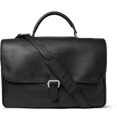 Maison Margiela Dual-Compartment Leather Briefcase
