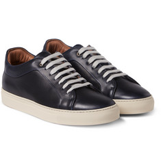 Paul Smith Shoes & Accessories - Nastro Grosgrain-Trimmed Leather Sneakers