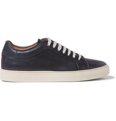 Paul Smith Nastro Grosgrain-Trimmed Leather Sneakers