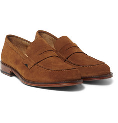Paul Smith Shoes & Accessories Gifford Suede Penny Loafers
