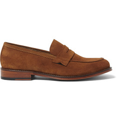 Paul Smith Gifford Suede Penny Loafers