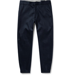 Alexander McQueen Tapered Zipped-Cuff Tech-Drill Trousers