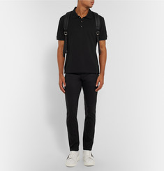 Alexander McQueen Slim-Fit Cotton-Piqué Polo Shirt