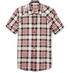 Alexander McQueen Checked Cotton Harness Shirt