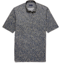 Lanvin Slim-Fit Printed Cotton Shirt