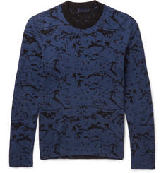 Lanvin Reversible Cotton and Wool-Blend Sweater