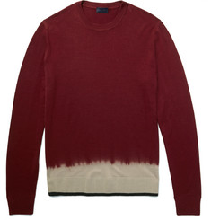 Lanvin Dip-Dyed Merino Wool Sweater