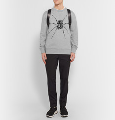 Lanvin Bead-Embellished Cotton-Jersey Sweatshirt