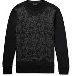 Lanvin Printed Loopback Cotton-Jersey Sweatshirt