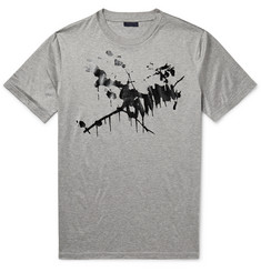 Lanvin Splatter-Print Cotton-Jersey T-Shirt