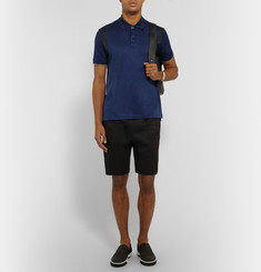 Lanvin - Slim-Fit Cotton-Piqué Polo Shirt