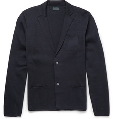 Lanvin - Slim-Fit Wool and Cotton-Blend Cardigan