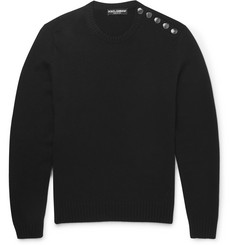 Dolce & Gabbana Slim-Fit Cashmere Sweater