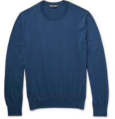Dolce & Gabbana Knitted Cotton Sweater