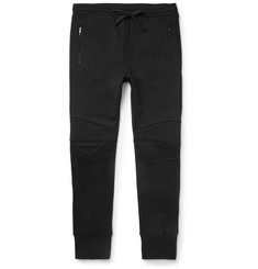 Dolce & Gabbana - Slim-Fit Cotton Biker Sweatpants