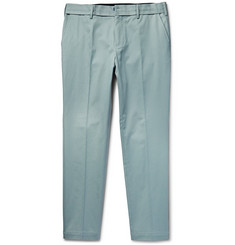 Dolce & Gabbana - Slim-Fit Stretch-Cotton Twill Trousers