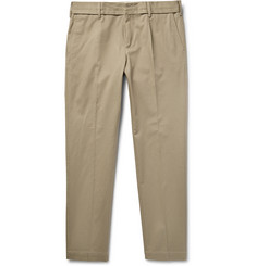 Dolce & Gabbana Slim-Fit Stretch-Cotton Twill Trousers