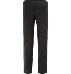 Dolce & Gabbana - Black Slim-Fit Wool-Blend Tuxedo Trousers