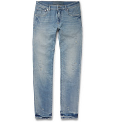 Dolce & Gabbana Slim-Fit Distressed Stretch-Denim Jeans
