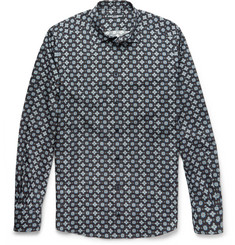 Dolce & Gabbana Slim-Fit Paisley-Print Cotton-Poplin Shirt