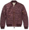 Burberry - Brit Quilted Shell Bomber Jacket
