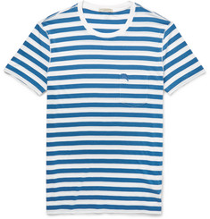 Burberry Brit - Striped Cotton-Jersey T-Shirt