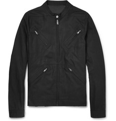 Rick Owens Slim-Fit Cotton-Canvas Bomber Jacket